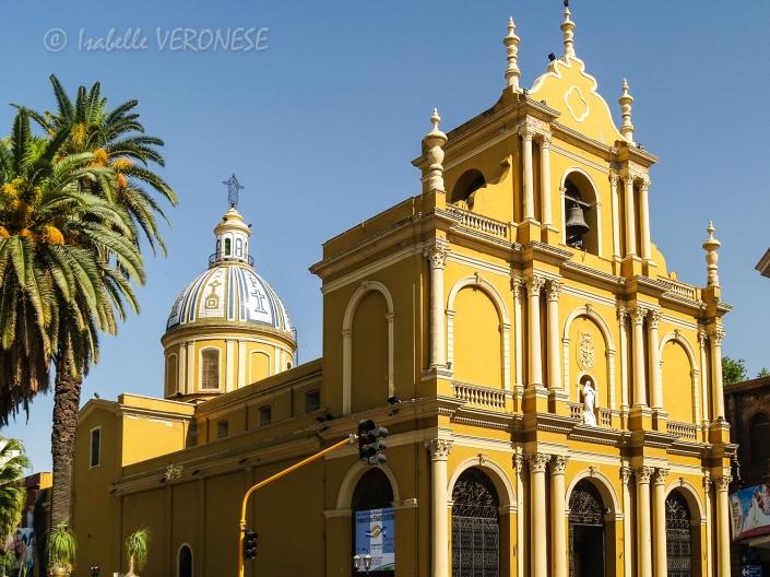 L'église San Francisco, monument historique.