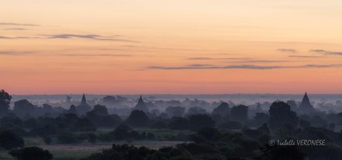 Bagan, Birmanie, sunrise