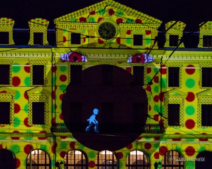 Lyon fête es lumières