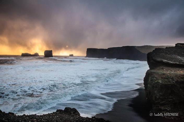 Dyrholaey, Islande