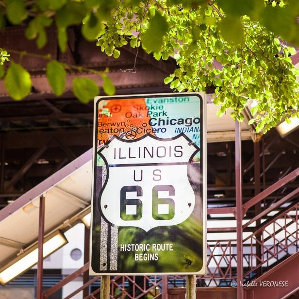 Route 66 à Chicago