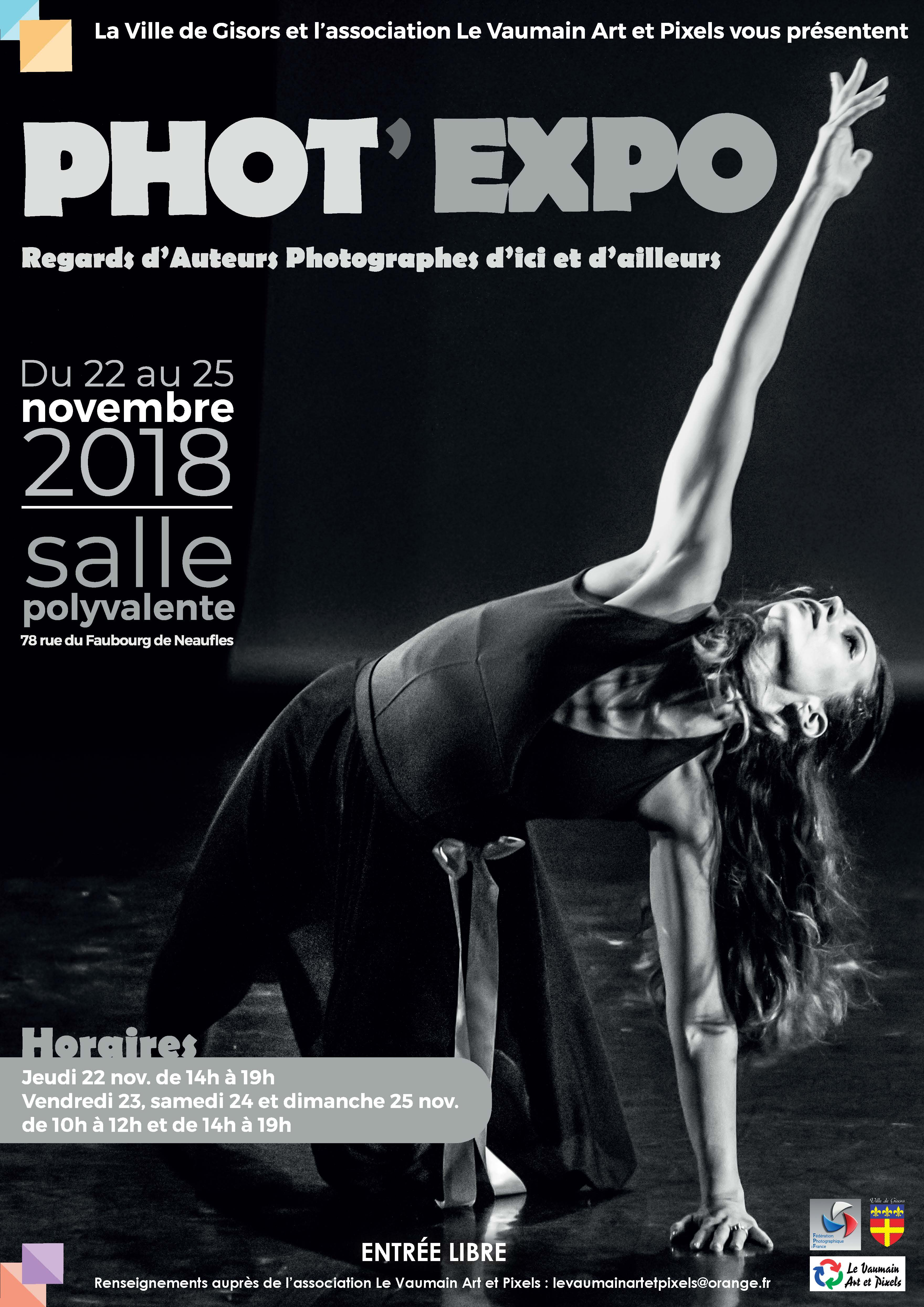 Affiche Phot'expo 2018