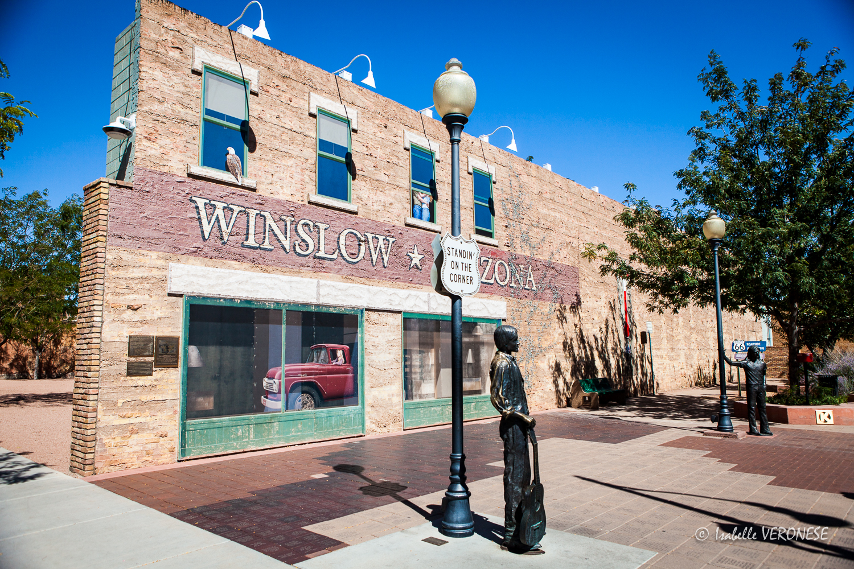 Winslow, route 66
