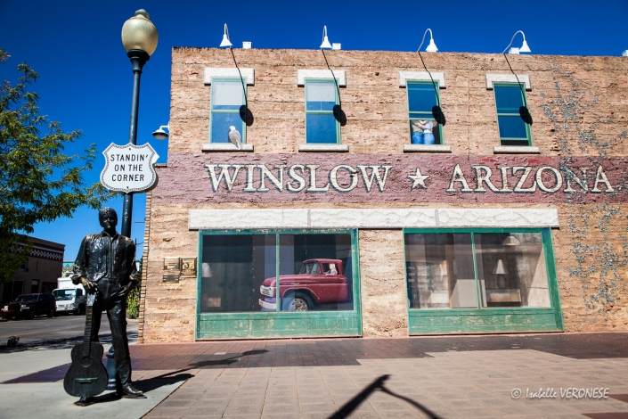 Winslow, route 66
